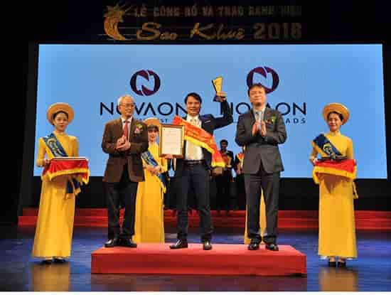 Novaon AutoAds received Sao Khue Adward 2018